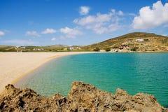 Playa de Mykonos Fotos de archivo