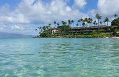 Playa de Napili, Maui foto de archivo