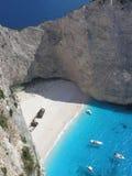 Playa de Navagio Imagen de archivo libre de regalías