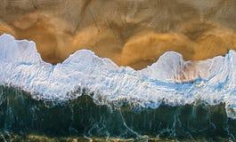 Playa de Nazare Imagen de archivo