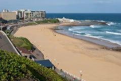 Playa de Newcastle, Australia Fotos de archivo