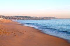 Playa de Newport Imágenes de archivo libres de regalías