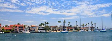 Playa de Newport en California Foto de archivo libre de regalías