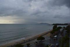 Playa de Nha Trang Foto de archivo libre de regalías