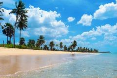 Playa de Nilaveli Foto de archivo libre de regalías