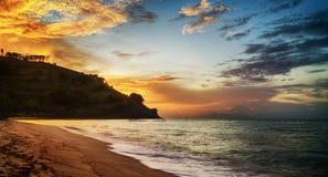 Playa de Nipah Imágenes de archivo libres de regalías