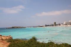 Playa de Nissi fotos de archivo