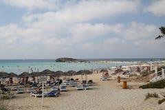 Playa de Nissi imagen de archivo libre de regalías