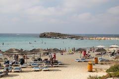 Playa de Nissi fotos de archivo libres de regalías