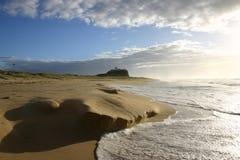 Playa de Nobbys Foto de archivo libre de regalías