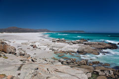 Playa de Noordhoek cerca de Ciudad del Cabo Fotografía de archivo libre de regalías