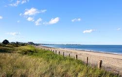 Playa de Nueva Inglaterra Imagen de archivo libre de regalías