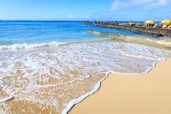 Playa de Oahu Waikiki imagenes de archivo