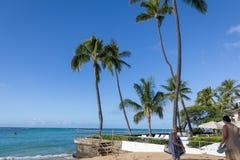Playa de Oahu Waikiki fotografía de archivo libre de regalías