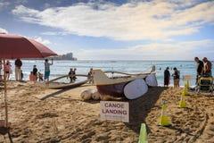 Playa de Oahu Waikiki fotos de archivo
