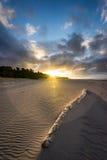 Playa de Oakura Fotografía de archivo