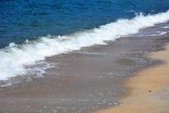 Playa de octubre del japonés/playa de Fukuok Ikinomathubara Imágenes de archivo libres de regalías