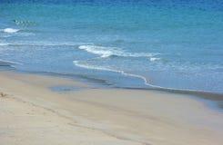 Playa de octubre del japonés/playa de Fukuok Ikinomathubara Imagen de archivo libre de regalías