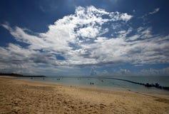 Playa de Okinawa en el verano imagen de archivo