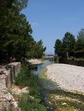 Playa de Olympos (Lycia) Antalya Imágenes de archivo libres de regalías