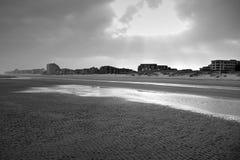 Playa de Oostduinkerke en Bélgica imagen de archivo libre de regalías