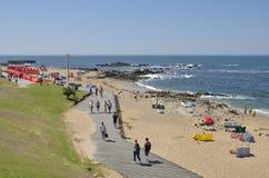 Playa de Oporto Fotografía de archivo libre de regalías