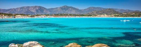 Playa de Oporto Giunco, Villasimius, Cerdeña, Italia Fotografía de archivo libre de regalías