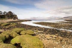 Playa de Ord en la isla de Skye Fotos de archivo
