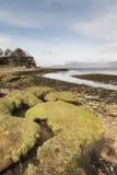 Playa de Ord en la isla de Skye Imagen de archivo