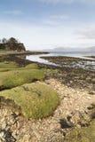Playa de Ord en la isla de Skye Imagenes de archivo