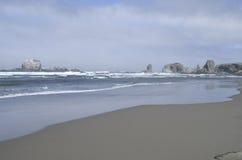 Playa de Oregon Imágenes de archivo libres de regalías