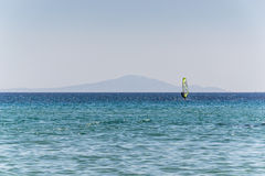 Playa de oro - Paros - Grecia Imágenes de archivo libres de regalías