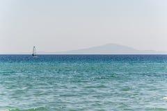 Playa de oro - Paros - Grecia Foto de archivo