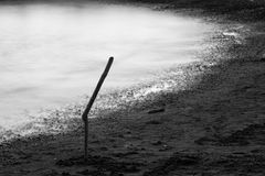Playa de Ostia fotografía de archivo