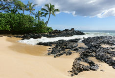 Playa de Paako, Maui Imagen de archivo