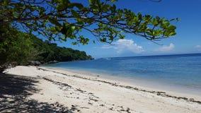 Playa de Padang Padang fotografía de archivo libre de regalías