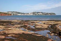Playa de Paignton Imagen de archivo
