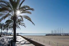 Playa de Palma morning Stock Photos