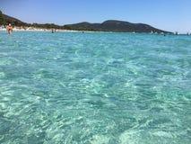 Playa de Palombaggia, Córcega Fotografía de archivo