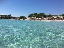 Playa de Palombaggia, Córcega Foto de archivo libre de regalías