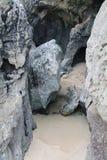 Playa de Palombina, Llanes, Spanien Stockfotografie