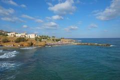 Playa de Panormo, Creta, Grecia fotografía de archivo