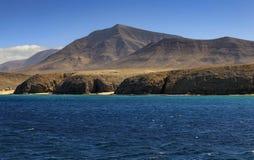 Playa de Papagayo σε Lanzarote Στοκ εικόνα με δικαίωμα ελεύθερης χρήσης