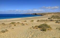 Playa de Papagayo σε Lanzarote Στοκ φωτογραφία με δικαίωμα ελεύθερης χρήσης