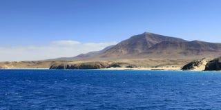 Playa de Papagayo σε Lanzarote Στοκ φωτογραφίες με δικαίωμα ελεύθερης χρήσης
