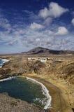 Playa de Papagayo Imágenes de archivo libres de regalías