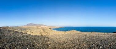 Playa DE Papagayo Royalty-vrije Stock Afbeeldingen