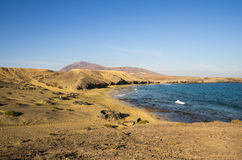 Playa DE Papagayo Royalty-vrije Stock Foto's