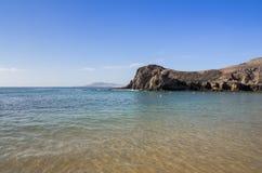 playa de papagayo Στοκ Εικόνα
