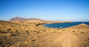 playa de papagayo Στοκ Φωτογραφία
